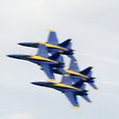 18 Inches Between Them - The Blue Angels by copperhead