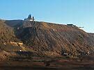 Slag Heap on the Line of Load.... Broken Hill by Juilee  Pryor