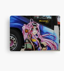 Bus Art Canvas Print
