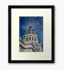 Royal Exhibition Centre Dome Framed Print