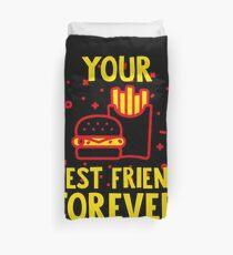 Bestfriend Forever BFF Besties Gift Idea Bettbezug