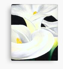 Lillian in Bloom Canvas Print