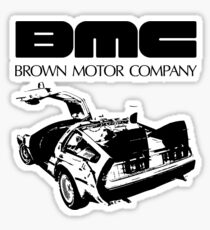 Brown Motor Company II Sticker