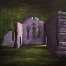 'Cymer Abbey, Wales' by Martin Williamson (©cobbybrook)