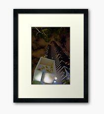 Eureka Skydeck Framed Print