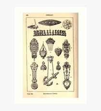 A Handbook Of Ornament With Three Hundred Plates Franz Sales Meyer 1896 0514 Jewelry Miscellaneous Art Print