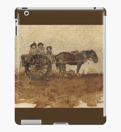 In Simpler Times.... iPad Case/Skin