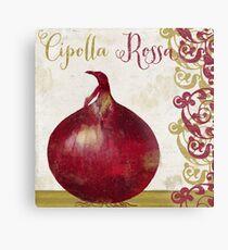 Cucina Italiana Cipolla Onion Metal Print