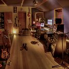The Recording Studio by Mark  Brady