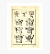 A Handbook Of Ornament With Three Hundred Plates Franz Sales Meyer 1896 0227 Supports Capital Art Print