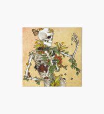 Knochen und Botanik Galeriedruck