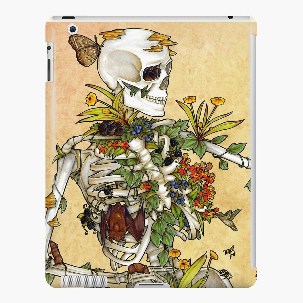 Bones and Botany iPad Case & Skin