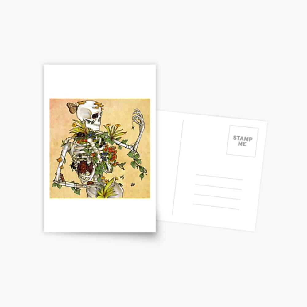 Bones and Botany Postcard