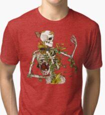 Knochen und Botanik Vintage T-Shirt