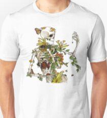 Knochen und Botanik Slim Fit T-Shirt