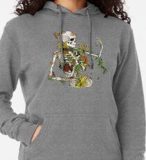 Knochen und Botanik Leichter Hoodie