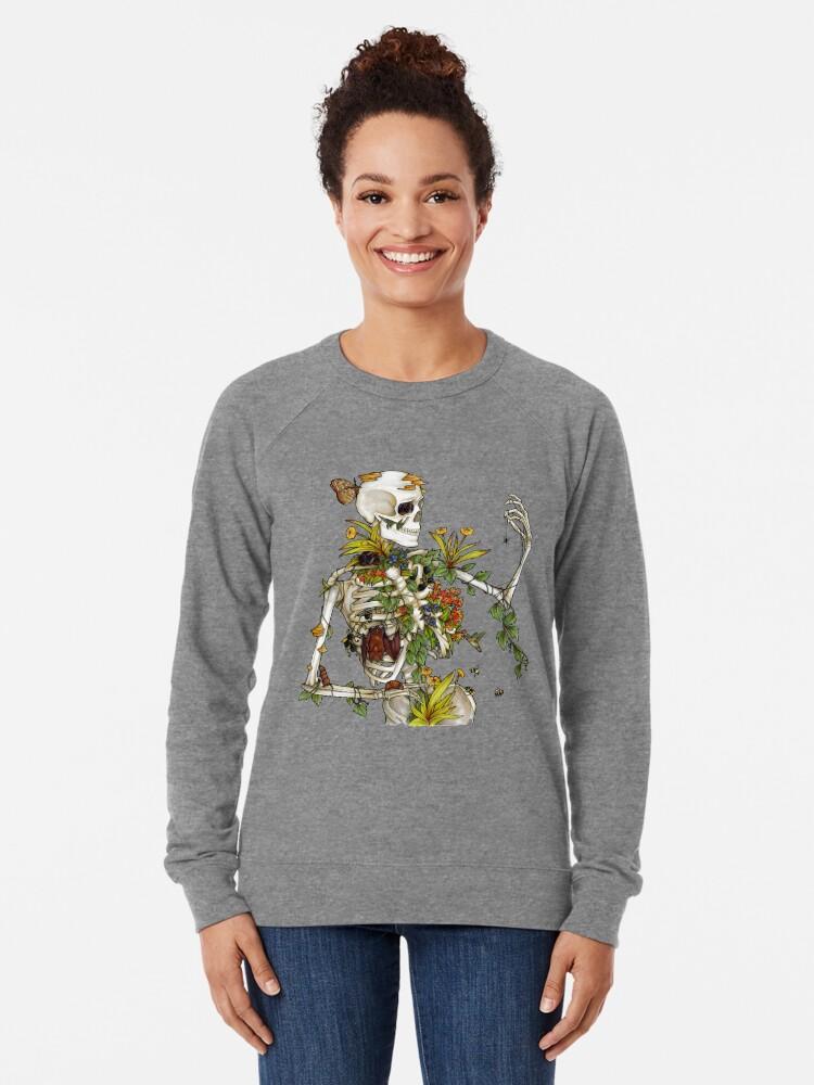 Alternate view of Bones and Botany Lightweight Sweatshirt