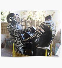 back yardie barbies  Poster