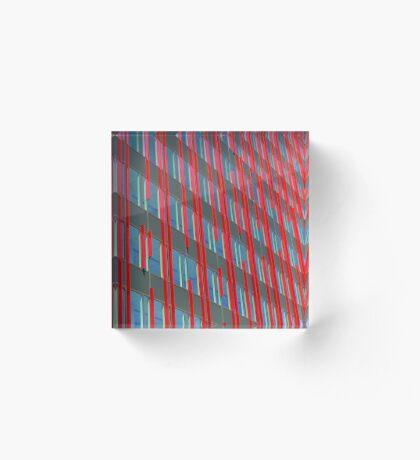 Red fins (2) Acrylic Block