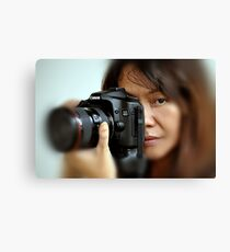 Canon EOS 40D and Model Canvas Print