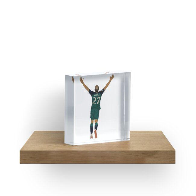 """Lucas Moura Painting"" Acrylic Block By SophieThfc10"