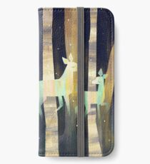 Ghost Deer iPhone Flip-Case/Hülle/Klebefolie