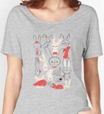 Bunnies Women's Relaxed Fit T-Shirt