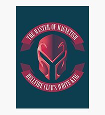 The Master of Magnetism Photographic Print