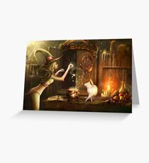 Touch of magic Greeting Card