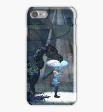 April, Seasons of the Witch: Dragon Rain iPhone Case/Skin