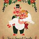 For A Special Couple by Carolina Pineda