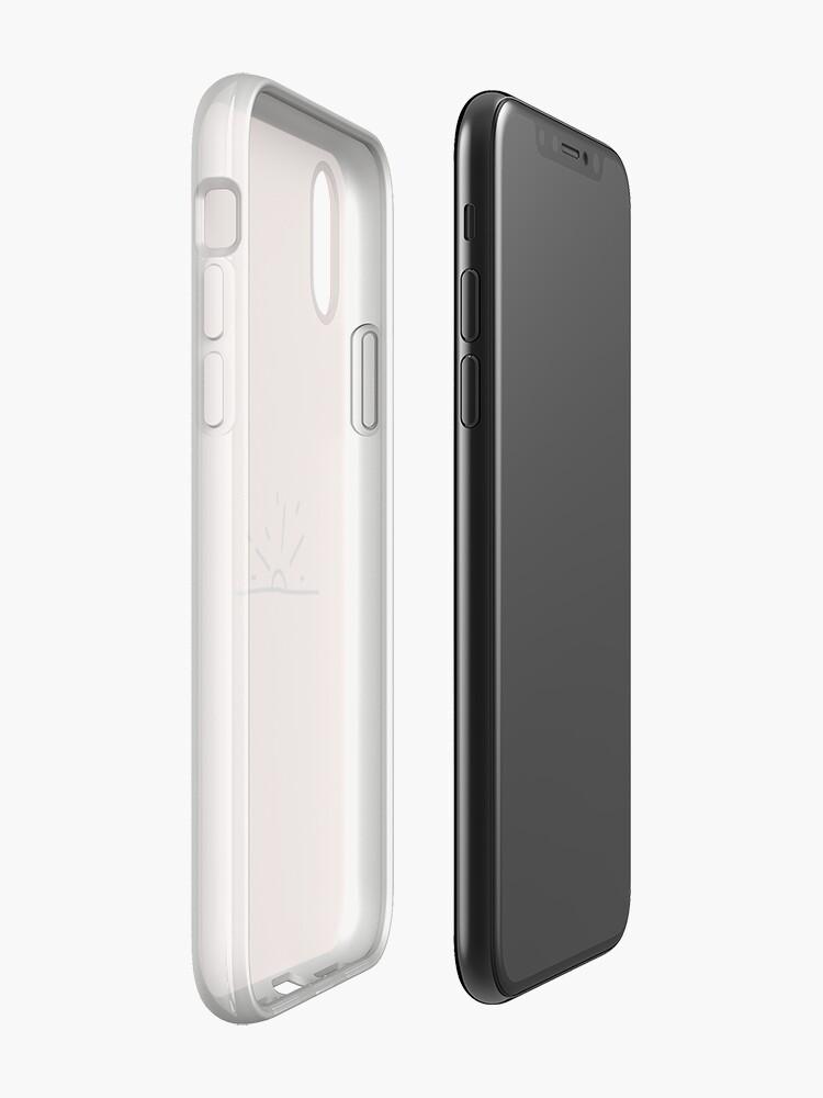 Alternative Ansicht von Minimalistische Sun Design iPhone-Hülle & Cover