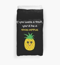Pineapple Shirt If You Were A Fruit You'd Be A Pineapple Gift Tee Bettbezug