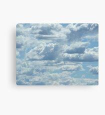 30 Clouds Canvas Print