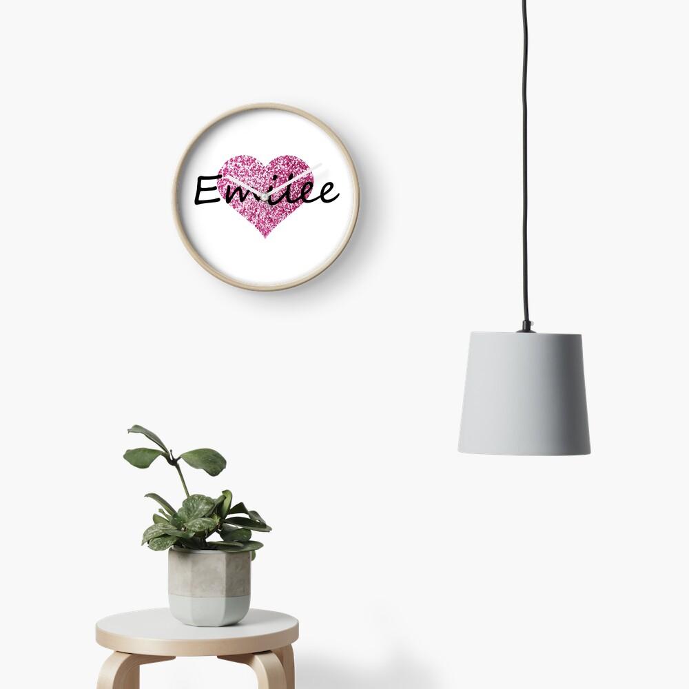 Corazón rosa emilee Reloj