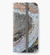 Erdtöne 2 iPhone Flip-Case/Hülle/Klebefolie