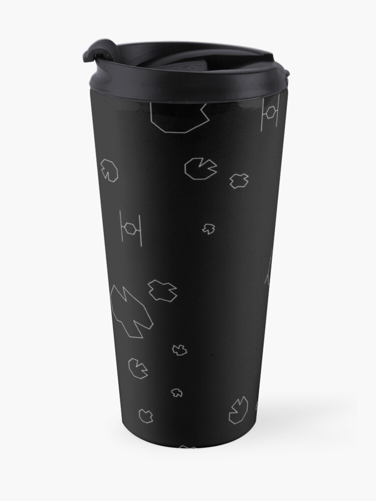 Alternate view of The Falcon Asteroid Field Travel Mug