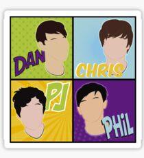 foursome Sticker