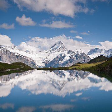 Bachsee, Bernese Oberland, Switzerland by mhowellsmead