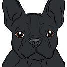 Black French Bulldog Terrier  by rmcbuckeye