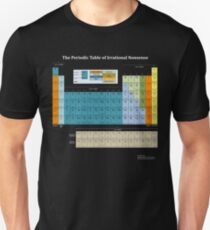 The Periodic Table Of Irrational Nonsense (Dark) Unisex T-Shirt