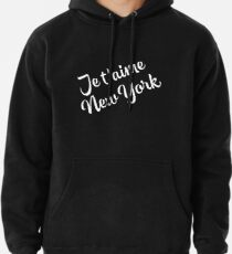 New York Themed Gifts - Je Taime New York - NYC Gift Bag Present  Pullover Hoodie
