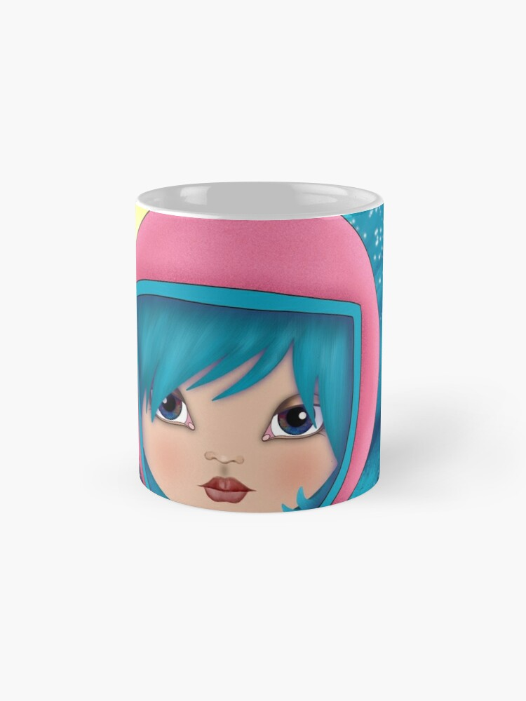 Alternate view of asteroidday - Space Girls Wear Pink Mugs