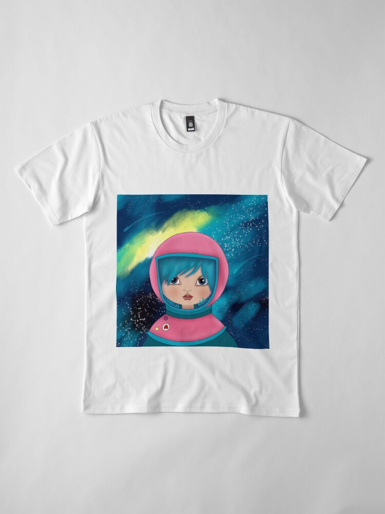 Alternate view of asteroidday - Space Girls Wear Pink Premium T-Shirt