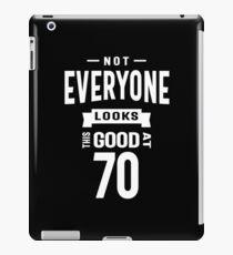 Vinilo o funda para iPad No todos se ven tan bien a los 70
