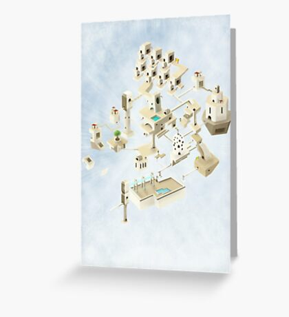 Creating Space - 1 Greeting Card