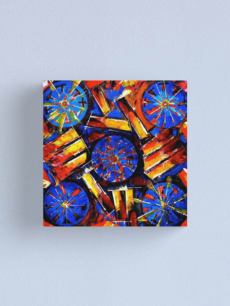 Alternate view of Spin Canvas Print