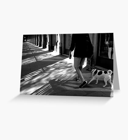 Paris - Palais Royal arches. Greeting Card