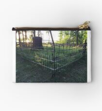 Pioneer Cemetery at Itasca State Park in Minnesota Studio Pouch