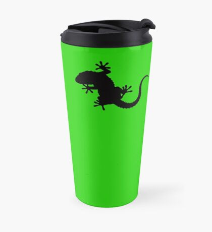 Cute Little Gecko Travel Mug